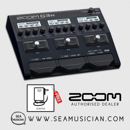 ZOOM G3N MULTI-EFFECTS GUITAR EFFECT PROCESSOR (ZOOM-G3N)