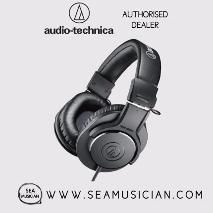 AUDIO-TECHNICA ATH-M20X PROFESSIONAL MONITOR HEADPHONES (AUD ATHM20)