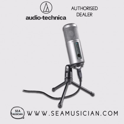 AUDIO-TECHNICA ATR2500-USB CARDIOID CONDENSER USB MICROPHONE (ATR2500-USB)