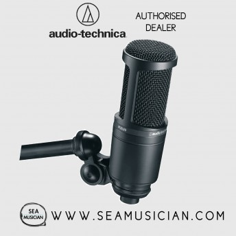 AUDIO-TECHNICA AT2020 CARDIOID CONDENSER STUDIO MICROPHONE (AT2020)