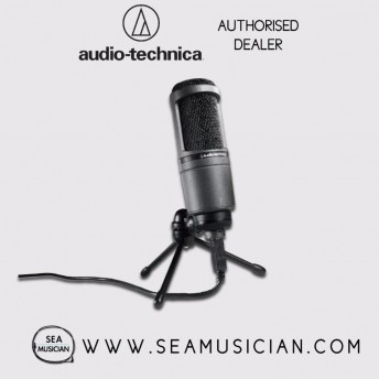 AUDIO-TECHNICA AT2020USB+ CARDIOID CONDENSER USB MICROPHONE (AT2020USB PLUS)