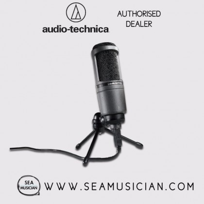 AUDIO-TECHNICA AT2020USB+ CARDIOID CONDENSER USB MICROPHONE (AT2020USB PLUS)