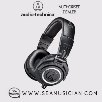 AUDIO-TECHNICA ATH-M50X PROFESSIONAL MONITOR HEADPHONES (ATH-M50x)