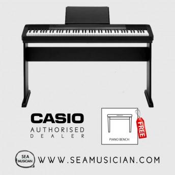 CASIO CDP 130 88-KEYS DIGITAL PIANO WITH BENCH - BLACK (CAS-CDP130BK)