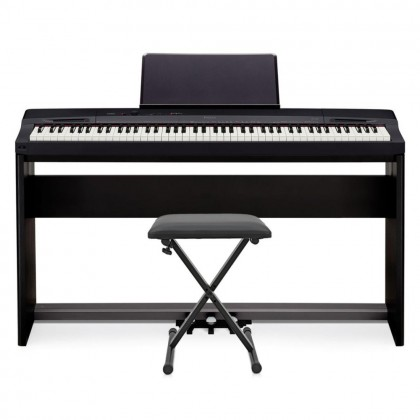 CASIO PRIVIA PX 160 88-KEYS DIGITAL PIANO WITH STAND - BLACK (CAS-PX160)