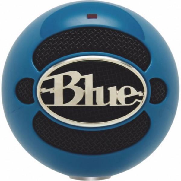 BLUE MICROPHONE SNOWBALL USB CONDENSER MICROPHONES ELECTRIC BLUE (B06-SNOWBALL BLUE)