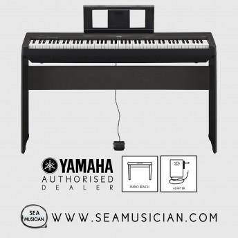 YAMAHA P-SERIES P-45 88-KEYS DIGITAL PIANO WITH BENCH (YMHP45B)