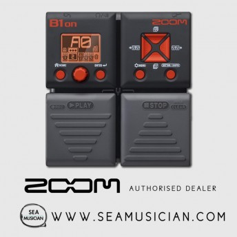 ZOOM B1ON BASS MULTI-EFFECTS PEDAL (ZOOM-B1ON)