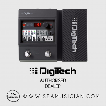 DIGITECH ELEMENT XP GUITAR MULTI-EFFECT FLOOR PROCESSOR 37 DIFFERENT PEDALS, 12 AMPS, AND 9 SPEAKER CABINETS EXPRESSION PEDAL VOLUME, WHAMMY™, WAH (DIGELMTXP)