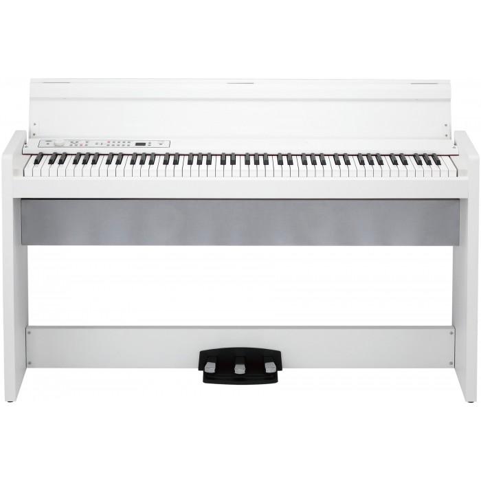 korg digital piano lp380 white korg lp380 wh. Black Bedroom Furniture Sets. Home Design Ideas