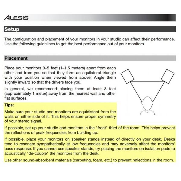 ALESIS ELEVATE 6 STUDIO MONITOR ACTIVE - PAIR (ALE-ELEVATE6XEU)
