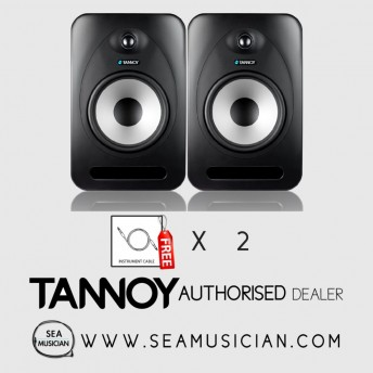 TANNOY REVEAL 802 STUDIO MONITOR WITH 2 FREE CABLES (T33-980017710) - PAIR